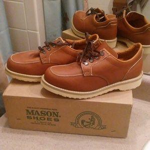 NIB Vintage Mason Steel Toe Boots